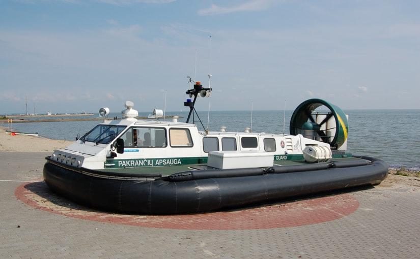 Hovercraft (Hava Yastıklı Tekne)